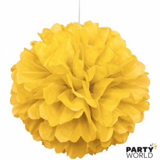 10in Puff Ball - Yellow