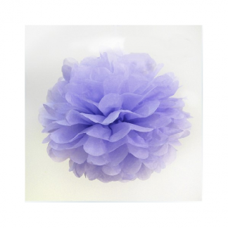 12in Puff Ball - Lavender (Light Purple)