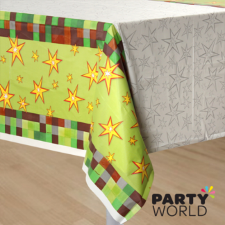 Minecraft TNT Party! Plastic Table Cover