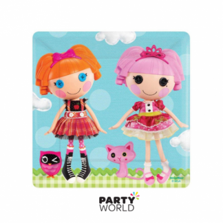 Lalaloopsy Square Side Plates (8)