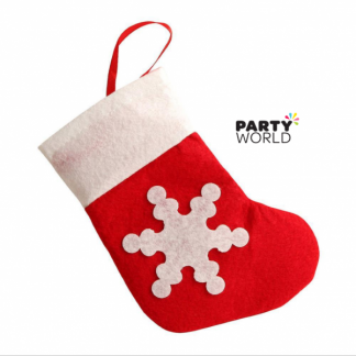 Mini Christmas Felt Stockings (Pack of 12)