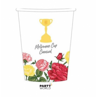 Melbourne Cup Carnival Paper Cups (8)