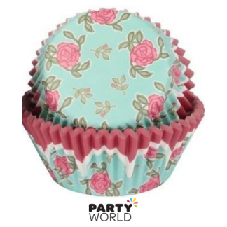 Sweet Themes Roses Cupcake Cases (50)