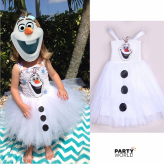 Olaf Dress - size 140 on sale