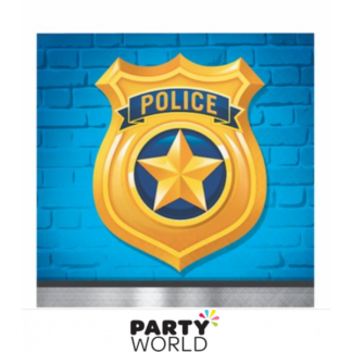Police Party Beverage Napkins (16)