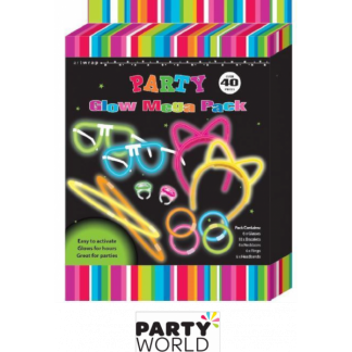 Glow Sticks Mega Pack