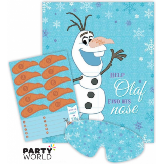 Disney Frozen Stick The Nose On Olaf Game
