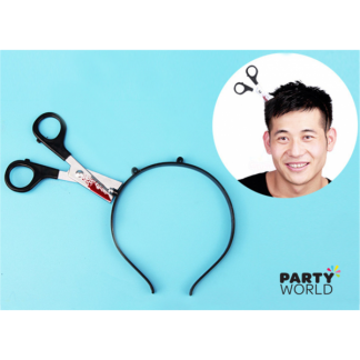 Headband With Scissors