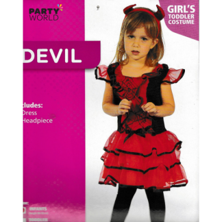 Girl's Infant Devil Costume
