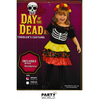 Day of the Dead Toddlers Costume - Infants