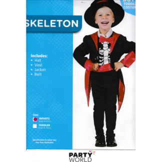 Top Hat Skeleton Costume - Infants