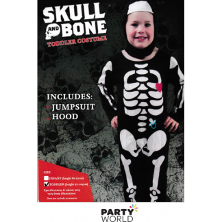 Dummy & Heart Skeleton Toddler Costume - Toddler