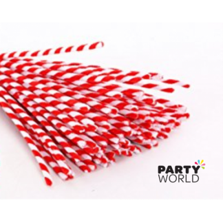 Candy Cane Pipe Cleaners (30)