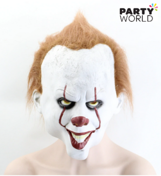 clown face mask pennywise stephen king