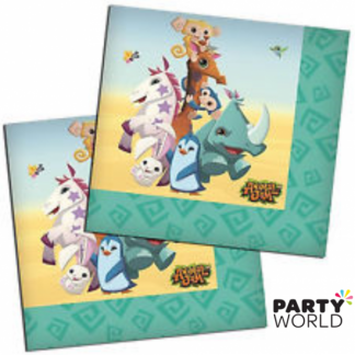 Animal Jam Luncheon Napkins (16)