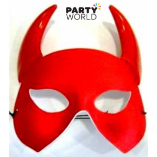 Babylon Red Mask With Horns