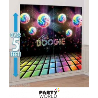Let's Boogie Disco Wall Decorating Kit