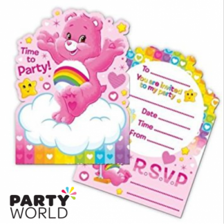 Care Bears Invitations (6)