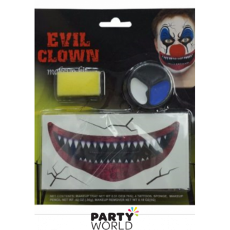 Creepy Carnival Creepy Clown Makeup Set