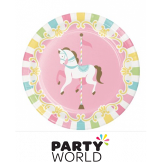 Carousel Paper Plates 7inch (8)