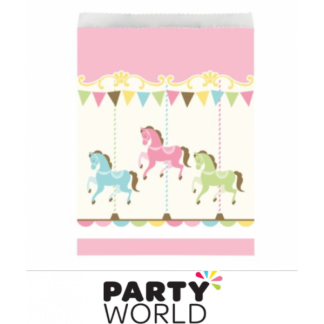 Carousel Paper Treat Bags (10)