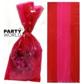Ruby Red Cello Gift Bags (30)