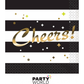 Chic Party Cheers Beverage Napkins (16)