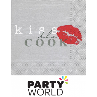 Kiss The Cook Luncheon Napkins (20)