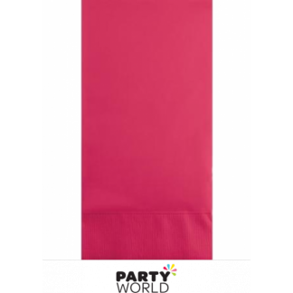Hot Magenta DINNER Napkins (50)