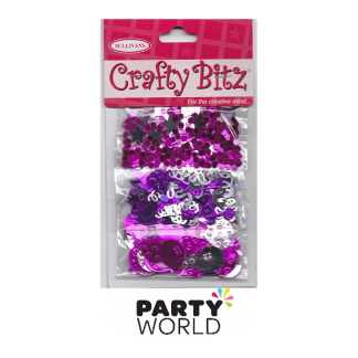 Scatters Party Mix Pink & Purple