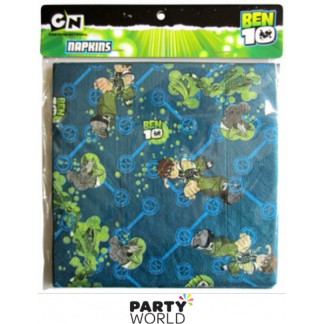 Ben 10 Luncheon Napkins (12)