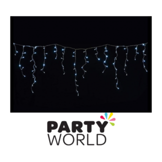 180 LED Icicles Lights Cold White