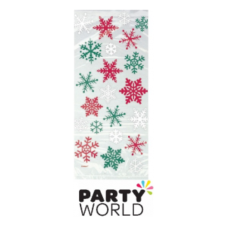 Christmas Snowflakes Cello Bags (20)