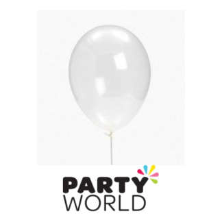 30cm Decorator Clear Balloons (25)