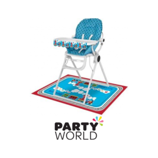 Train All Aboard Birthday Boy High Chair Kit