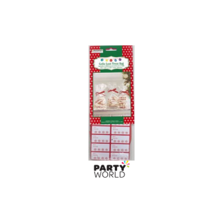 Christmas Tall Cello Treat Bags (12)