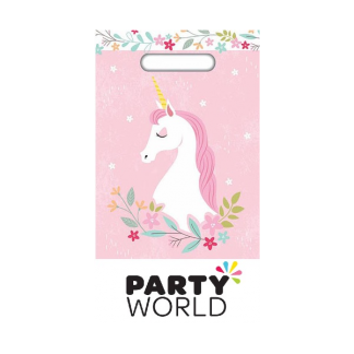 Pretty Unicorn Party Loot Bags (10)