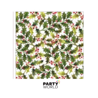 Christmas Holly Luncheon Napkins (20)