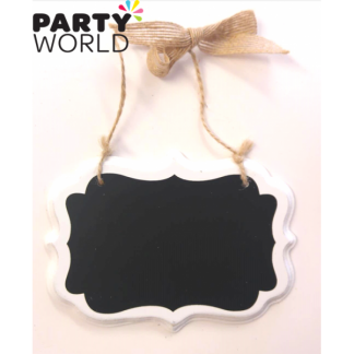 Decorative Mini Blackboard White