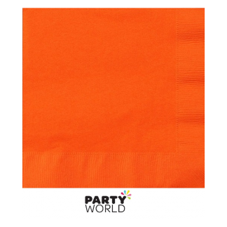Orange Value DINNER Napkins (20)