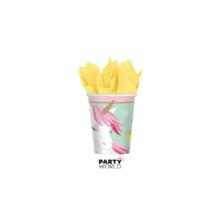 Unicorn Magical Paper Cups (8)