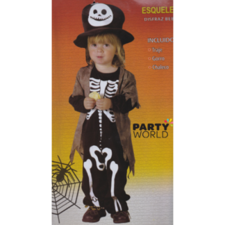 Skeleton Costume (80-92 cm)