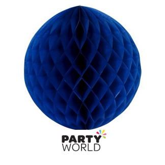 Honeycomb Lantern - Dark Blue 30cm