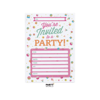 Party Pink Invitations (16)