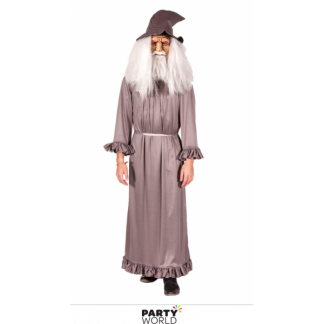 Grey Wizard Men's Costume XL