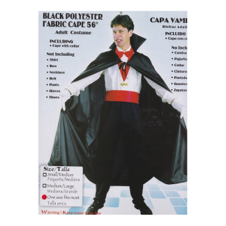 Adults Vampire Fabric Cape