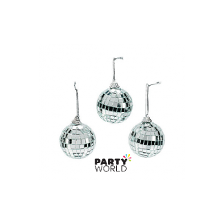 Mini Disco Ball Decorations (6)