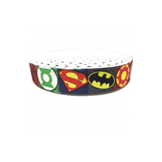 Super Hero / justice league Grosgrain Ribbon (2m)