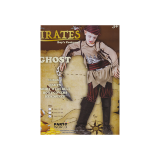 Pirate Ghost Boys Costume Large