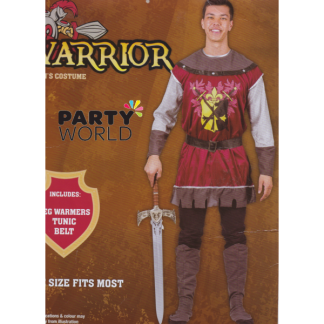 Mens Warrior Costume (one size)